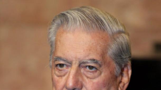 Der Bekenner: Frankfurt feiert Mario Vargas Llosa