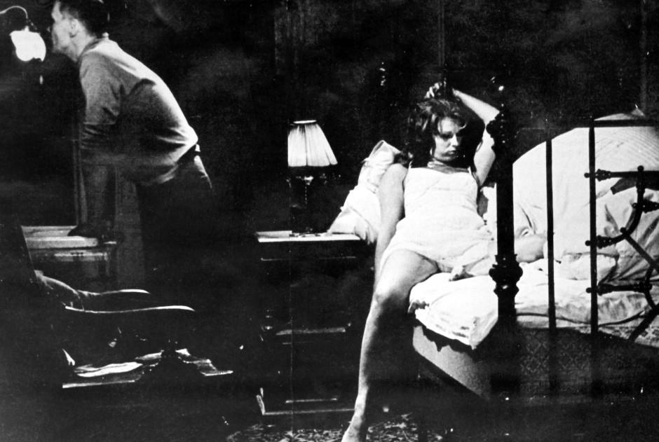 """Ingmar Bergmans Film """"Das Schweigen"""" aus dem Jahr 1963 brachte Adolf Süsterhenn auf die """"Aktion Saubere Leinwand""""."""