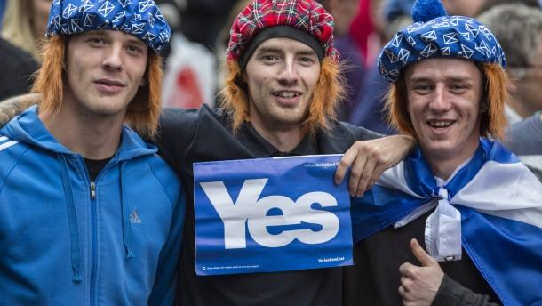 Was die Schotten wollen