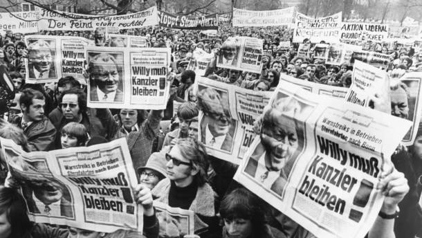 """Bundestagswahl 1972: """"Willy muß Kanzler bleiben"""""""