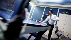 Tischtennis im Büro