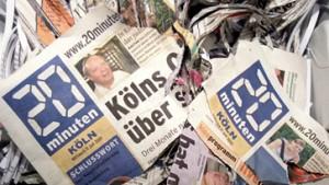 Kostenlose Tageszeitungen sind erlaubt