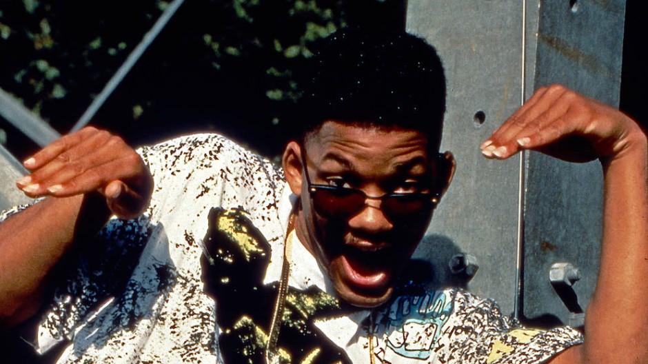 Will Smith in der von 1990 bis 1996 produzierten Serie Der Prinz von Bel Air