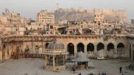 Durch Bomben schwer verletzt: Aleppo, wie es heute ist.