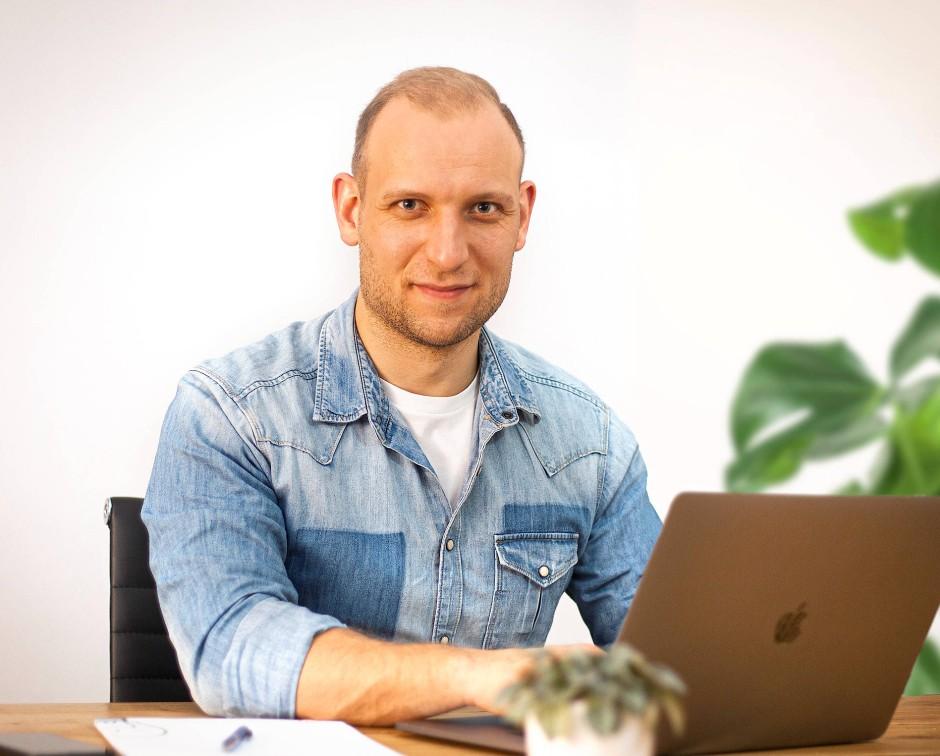 Kommunikationsdesigner Matthias Abels
