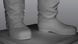 Niemand hatte den Diktator jemals ohne Stiefel gesehen