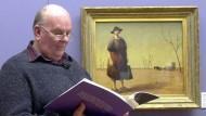 Der Barde von Bunyah liest: Les Murray im Herbst 2002 in der australischen Hauptstadt Canberra