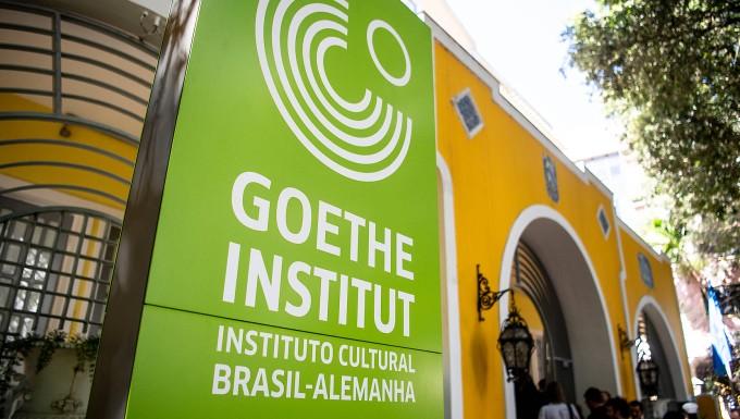 In aller Welt hat das Goethe-Institut Zweigstellen. Dies ist die Niederlassung in Salvador-Bahia, Brasilien.
