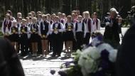Litauen stellt sich seiner Vergangenheit: Im Mai wurde bei Vilnius der Holocaustopfer gedacht. Etwa 70.000 Juden kamen beim Massaker von Paneriai ums Leben.