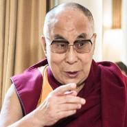 Der Dalai-Lama: das einstige Oberhaupt der tibetischen Exilregierung und geistliche Oberhaupts der Tibeter wird am kommenden Montag fünfundachtzig Jahre alt.