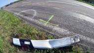 Polizist und Motorradfahrer sterben bei Tempo-Kontrolle
