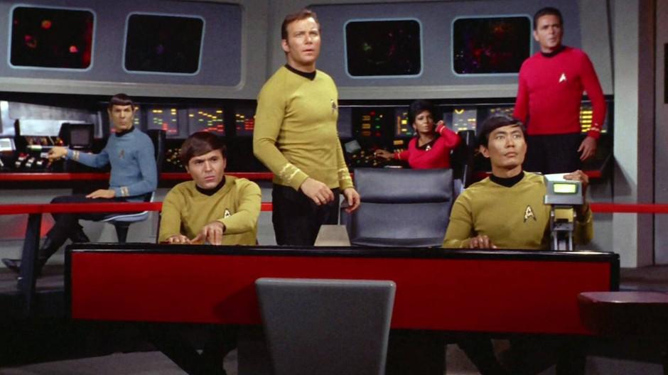 Jede Ähnlichkeit der Inneneinrichtungen ist absolut nicht zufällig: Die Crew von Raumschiff Enterprise arbeitet an Bord so effizient ...