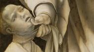 Der Heilige Cyriakus auf dem Heller-Altar des Matthias Grünewald