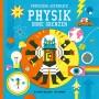 """Dominic Walliman: """"Professor Astrokatz - Physik ohne Grenzen"""". Mit Bildern von Ben Newman. Aus dem Englischen von Sylvia Prahl. NordSüd Verlag, Zürich 2016. 72 S., geb., 22,99 €. Ab 8 J."""