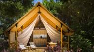Nie wieder Schlafsack: Nach dem Luxus auf den Campingplätzen Lanterna und Krk gibt es kein Zurück mehr.