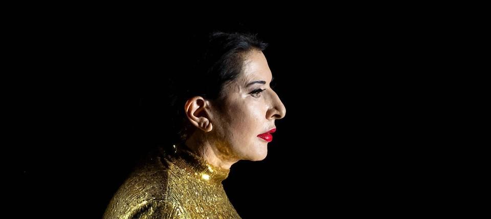 Marina Abramovic als maria Callas.