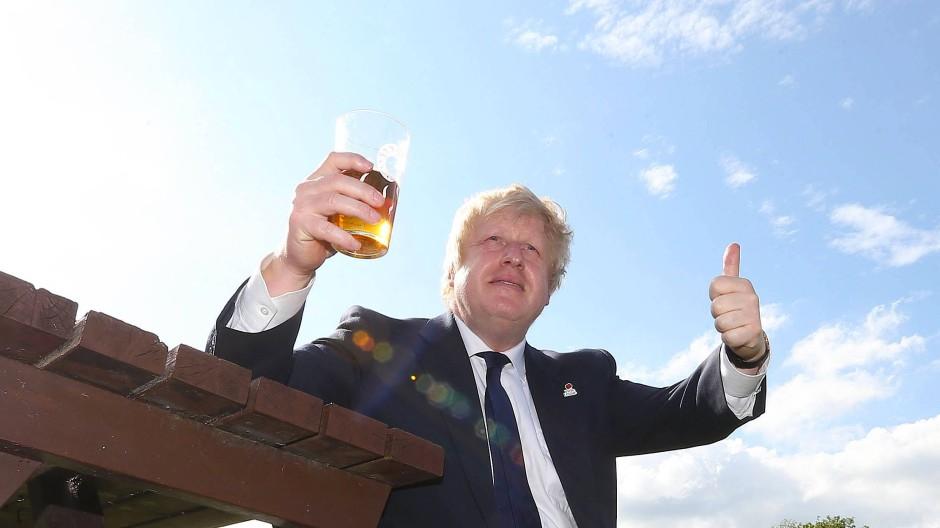 Der Falstaff seiner Zeit: Boris Johnson am 22. Juni 2016, dem Tag vor dem Referendum