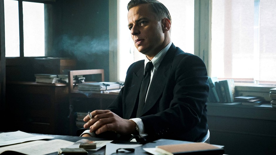 """Die Rolle als Zwiespalt: In der Serie """"Das Boot"""" verkörpert Tom Wlaschiha den Gestapo-Chef von La Rochelle."""
