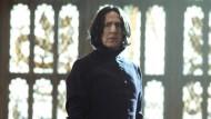 """Ist er gut? Ist er böse? Rickman als Professor Severus Snape in """"Harry Potter und die Kammer des Schreckens""""."""