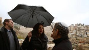 Kraftprobe in den Siedlungen auf besetztem Gebiet