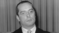 Zu österreichisch, um Fürsprecher des Menschen zu sein: Oswald Wiener, 1968.