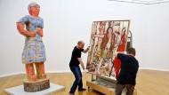 Das umstrittene Kulturgutschutzgesetz von Monika Grütters fordert erste Opfer: Der Künstler Georg Baselitz ließ im Juli 2015 zwei Leihgaben aus der Kunstsammlung Chemnitz abhängen.