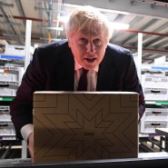 Hat für einige nichts als Ärger im Gepäck: Englands Permierminister Boris Johnson