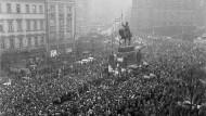 Wie soll man da einfach weiterleben? Proteste nach der Selbstverbrennung Jan Palachs vor fünfzig Jahren in Prag