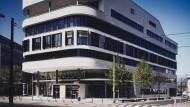 Das neue Ordnungsamt an der Kleyerstraße, entworfen vom Architekturbüro Meixner Schlüter Wendt, aufgenommen 2010.