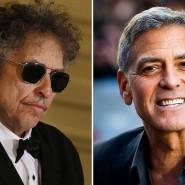 Zwei Oscar-Preisträger mit einer Liebe zum Baseball: Bob Dylan und George Clooney