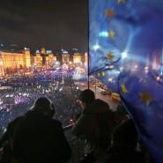 Der Majdan im vergangenen Winter: Die Ukrainer, die sich in ihrem Protest nach dem modernen Europa sehnten, werden jetzt mit europäischer Missachtung bestraft.