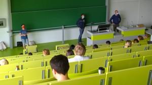 Wer, wenn ich lehrte, hörte mich?