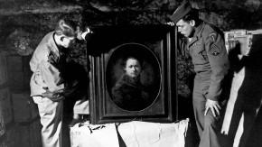 Raubkunst: Amerikanische Soldaten entdecken einen Rembrandt.