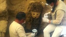 Archäologen finden unberührte Grabkammer