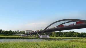 Völkerrechtsproblem Brücke