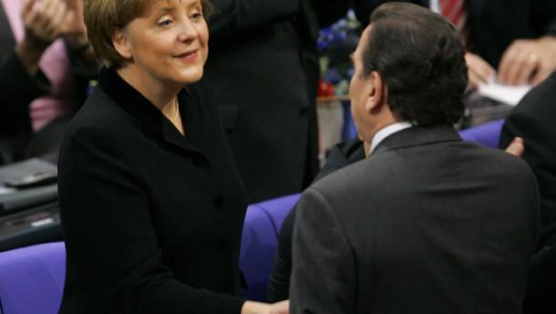 Was rettete Angela Merkel im September 2005?