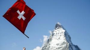 Die Schweiz ist des Wahnsinns