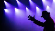 Udo Lindenberg bei einem Konzert auf einem Kreuzfahrtschiff im Mai