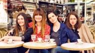 """Die Autorinnen des Nachschlagewerks """"How to be Parisian – wherever you are"""", von links: Audrey Diwan, Caroline de Maigret, Sophie Mas, Anne Berest"""