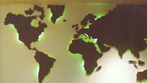 Bilder und Texte zum Phänomen Welthandel