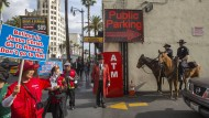 Helden des Glücks in Los Angeles
