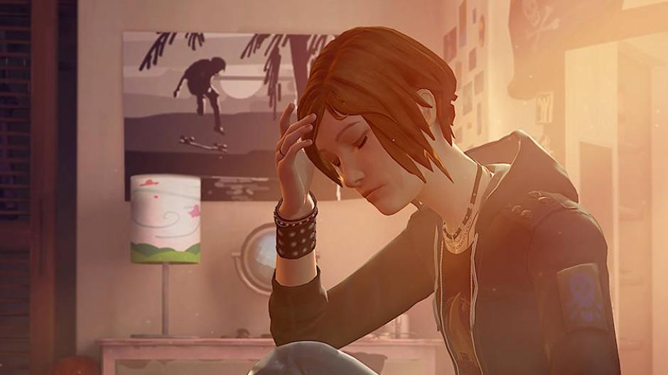 """Chloe muss sich noch finden: Szene aus """"Life is Strange – Before the Storm""""."""