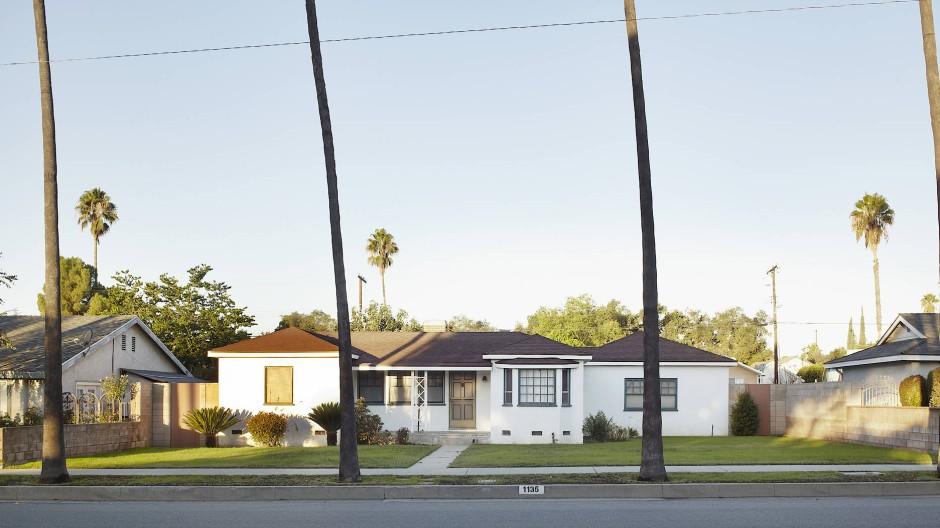 Typisch kalifornisch: für jeden ein Einfamilienhaus.