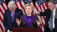 "Hillary Clinton bei ihrer ""Concession Speech"""
