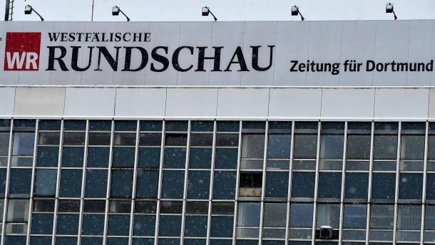 """Lokalredaktionen der """"Westfaelischen Rundschau"""" werden geschlossen"""