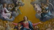 """Ergänzt die """"alten Italiener"""" bestens: Eine """"Himmelfahrt Mariens"""" von Guido Reni, um 1586/97 in Öl auf Kupfer gemalt"""