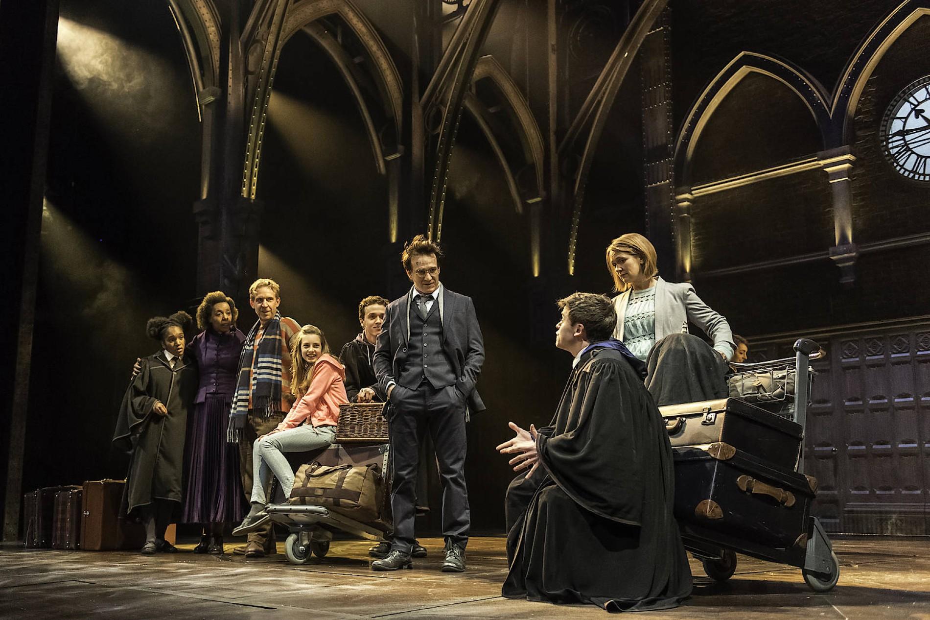 Harry Potter Und Das Verwunschene Kind Am Palace Theatre London