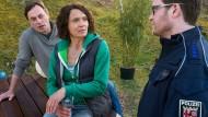 """Die Frau Kommissarin ist zwar im Krankenstand, übernimmt den Fall aber trotzdem: Ulrike Folkerts als Lena Odenthal in einer Szene des """"Tatorts"""""""