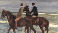"""Max Liebermanns """"Zwei Reiter am Strand"""" stammt aus der Sammlung Gurlitt, wurde als Raubkunst erkannt, dem rechtmäßigen Besitzer zurückgegeben und bei Sotheby's versteigert."""