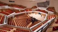 Ganz im Sinne des traditionellen, symphonischen Klangs: Der neue Konzertsaal des 1969 eröffneten Kulturpalasts.